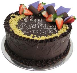 Butterscotch Brittle Birthday Cake