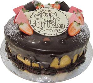 Caramel Teaser Birthday Cake