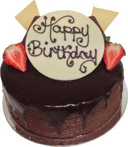 Chocolate Mud Birthday Cake (BC8)