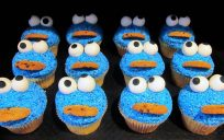 Cookie Monster Cupcakes KC 17