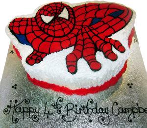 Spider Man Cake (kc 2)