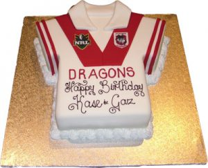 Sporting Jersey Cake