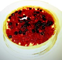 COLD SET BERRY CHEESECAKE