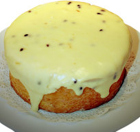 Passionfruit Butter Cake