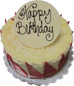 Red Velvet Birthday Cake (BC 6)