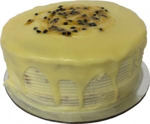 Passionfruit Mud Cake