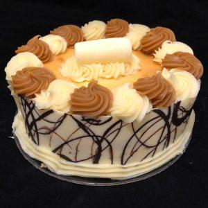 cake-baked-caramel-cheesecake