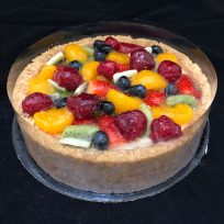 cake-fruit-salad-cheesecake