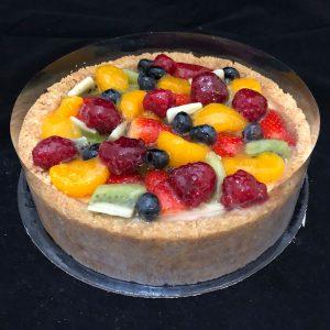 cake-fruit-salad-cheesecake