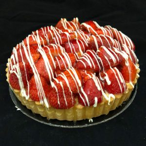 cake-strawberry-cheese-tart